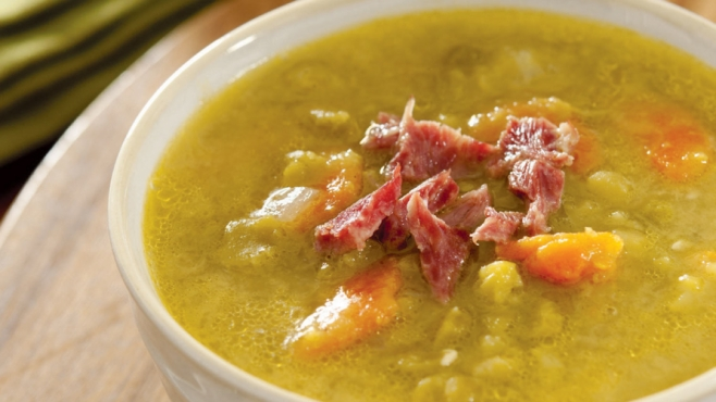 pear and ham soup